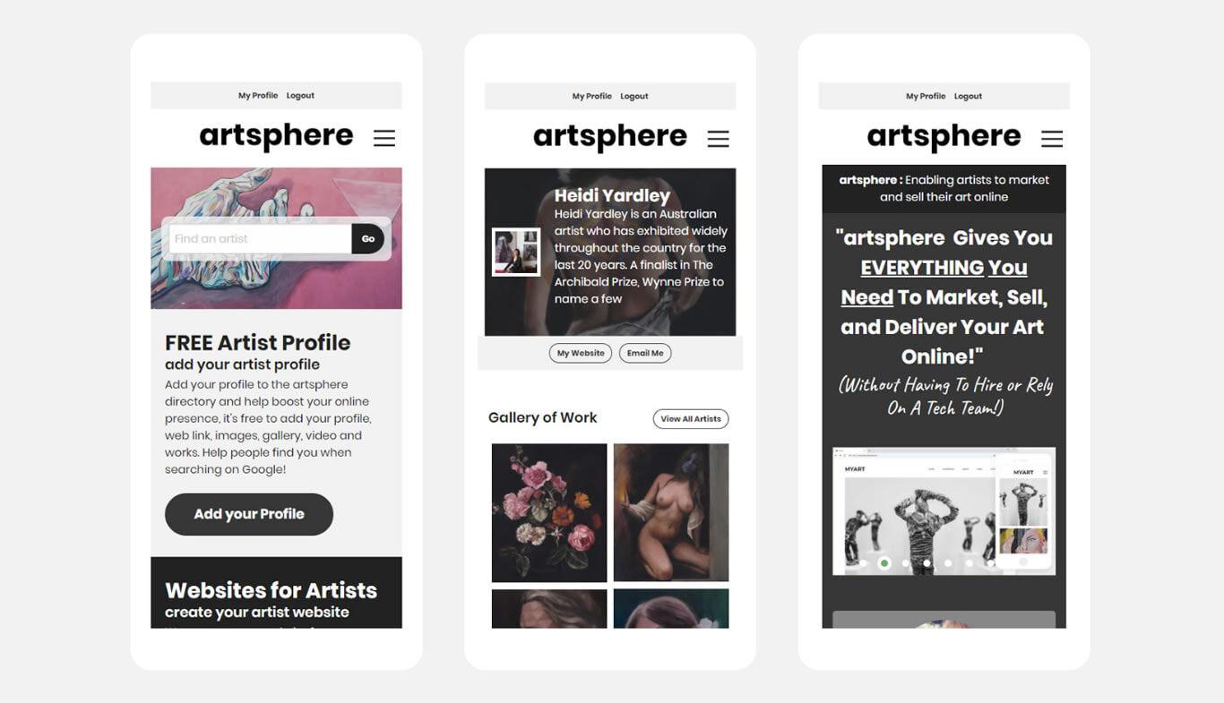 WebApp-artsphere