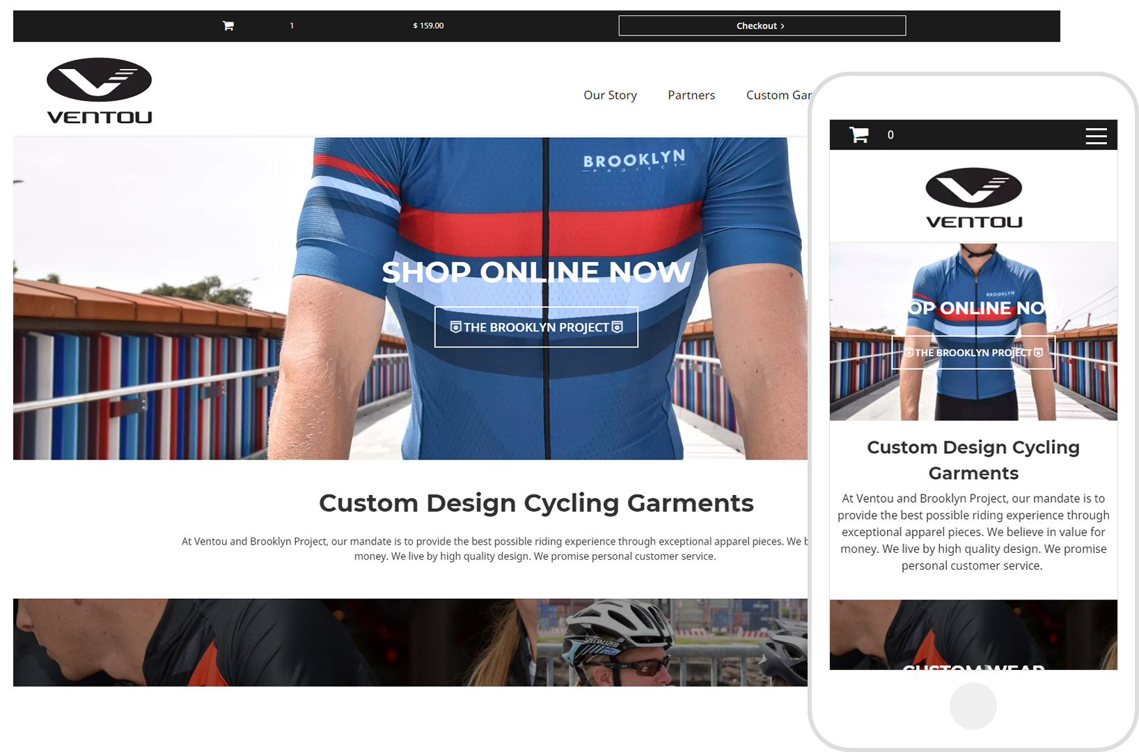 Ventou Custom Cycling Gear