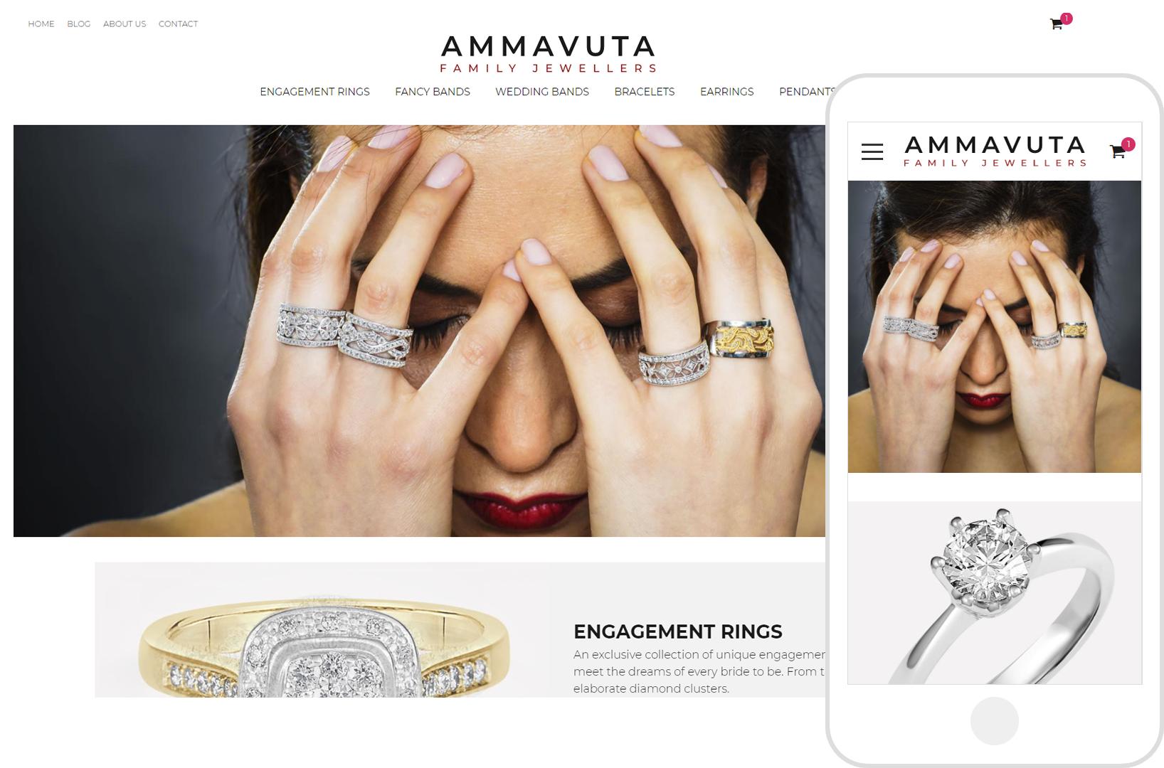 Jewelery Sample Website