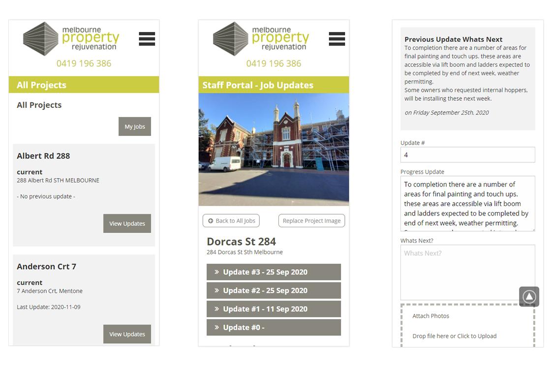 MPRJ Building Job Tracker