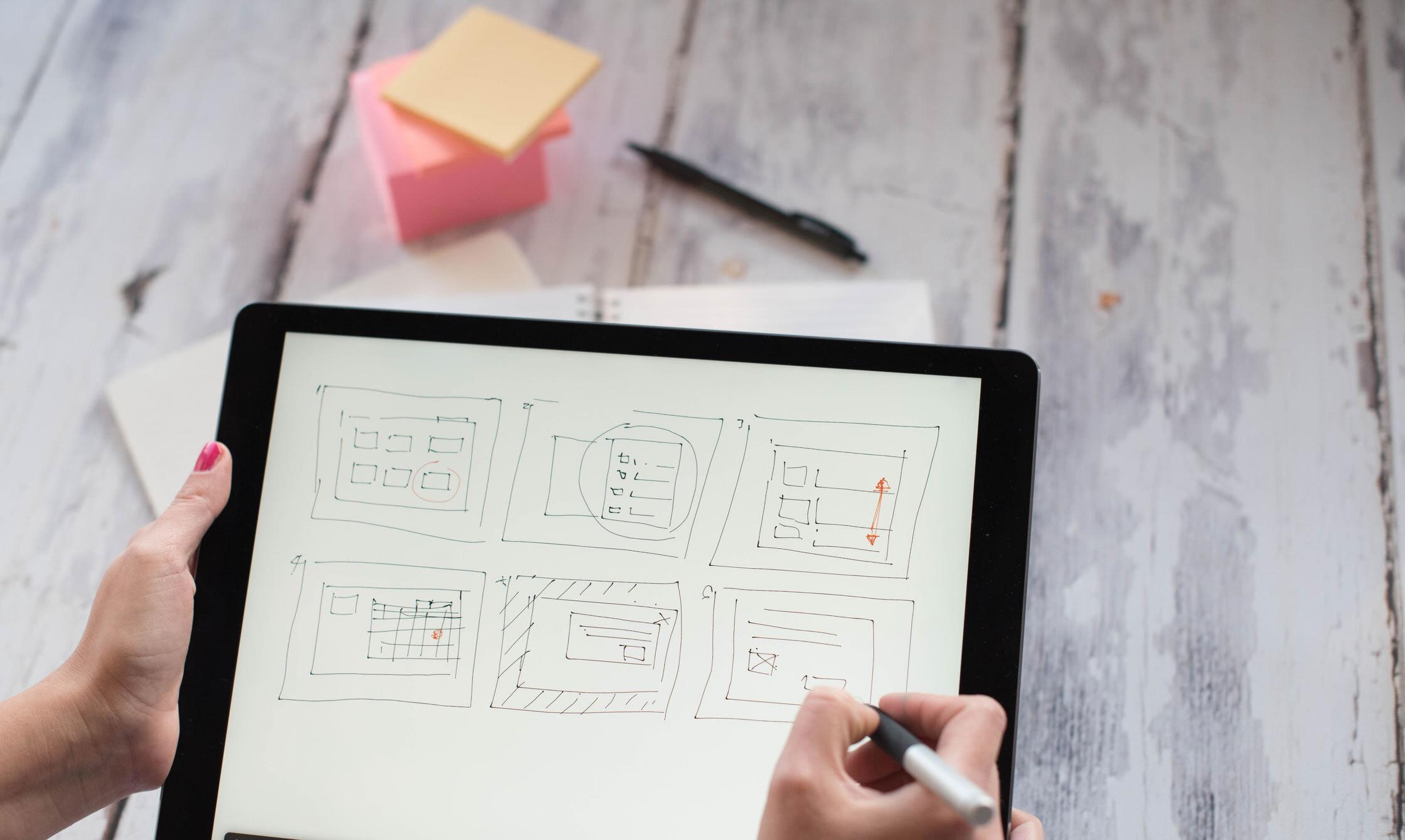 Website build planning