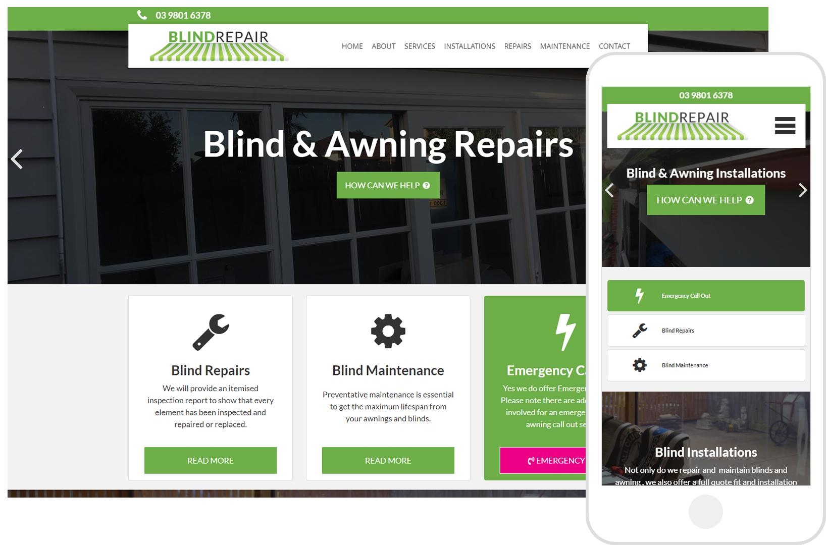 Blind & Awning Repairs