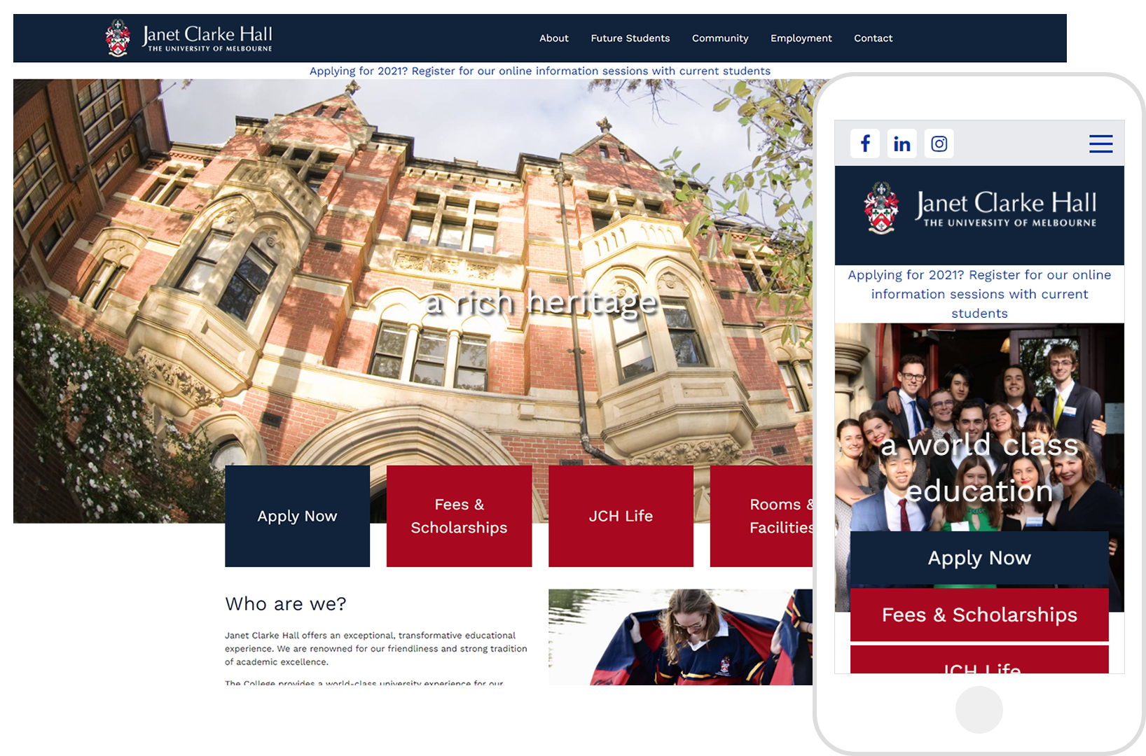 JCH College-Udo-template