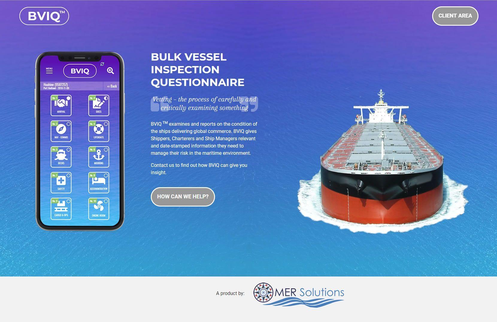 BVIQ - Bulk Vessel Inspection Questionnaire