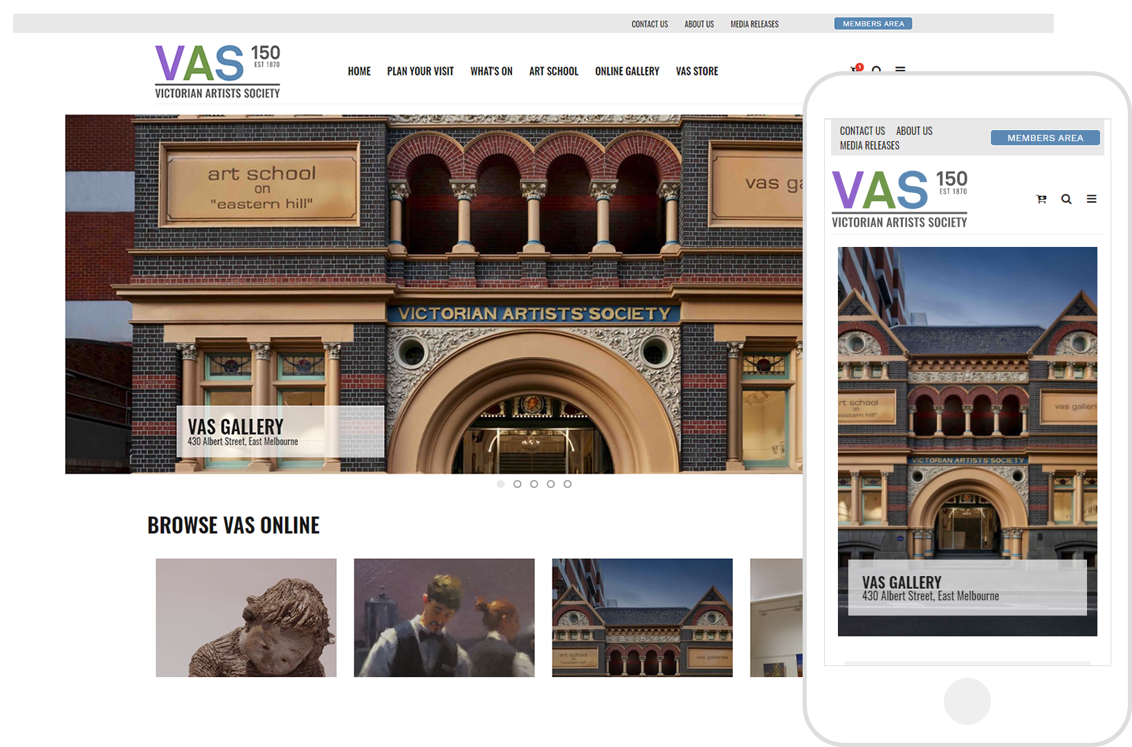 VAS Gallery - The Victorian Artists Society